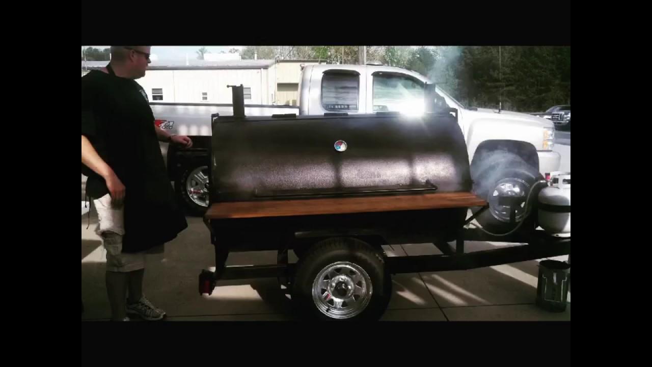 Custom BBQ smokers, bbq grill, NC bbq grills, best built bbq