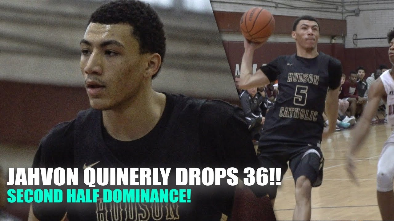 4d537638af0c Jahvon Quinerly DROPS 36!! Second Half DOMINANCE!! - YouTube