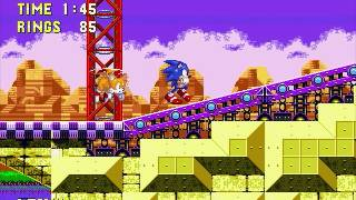 Sonic 3 and Knuckles PC Launch Base Zone (Sonic)