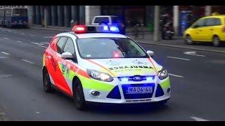 Gyermekmentő orvos autó OMSZ Budapest