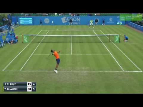 Jay Clarke Shot of the Day at Aegon Open Nottingham