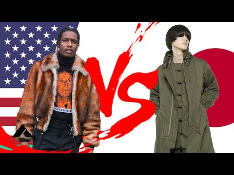 JAPANESE Vs AMERICAN FASHION & STYLE