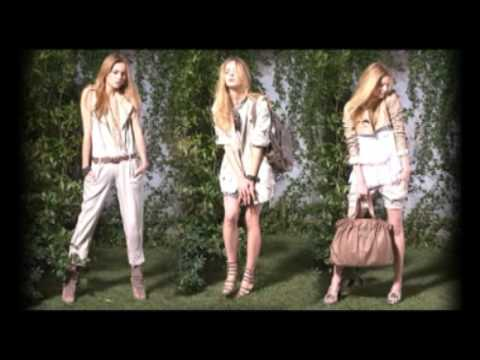 ELISABETTA FRANCHI CELYN B. Spring Summer 2009 Backstage Campaign Video