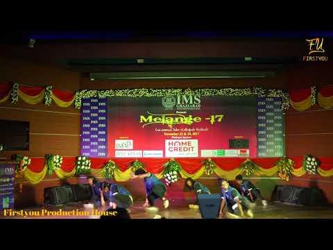 "12 Back to Back Group Dance Performance ||Melange 2K17 ||""Firstyou"""