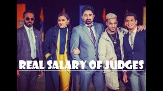 Real Salary of Roadies Xtreme Judges per Episode