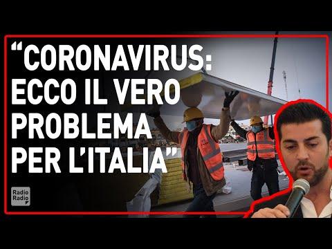 SE IL CORONAVIRUS SI DIFFONDESSE IN ITALIA AVREMMO UN PROBLEMA CHE LA CINA NON HA - Francesco Amodeo