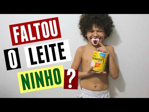 FALTOU O LEITE NINHO?