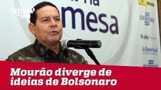 General Mourão diverge de ideias de Jair Bolsonaro sobre assuntos internacionais