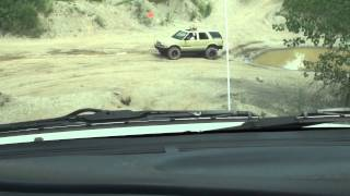 ZR2 steep grade at Bundy Hill Offroad Park S-10 Blazer SAND TROOPERS