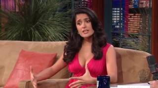 Salma Hayek The Tonight Show With Jay Leno