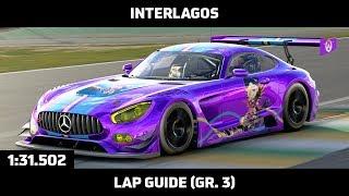 Gran Turismo Sport - Daily Race Lap Guide - Interlagos - Mercedes-AMG GT3 (Gr. 3)
