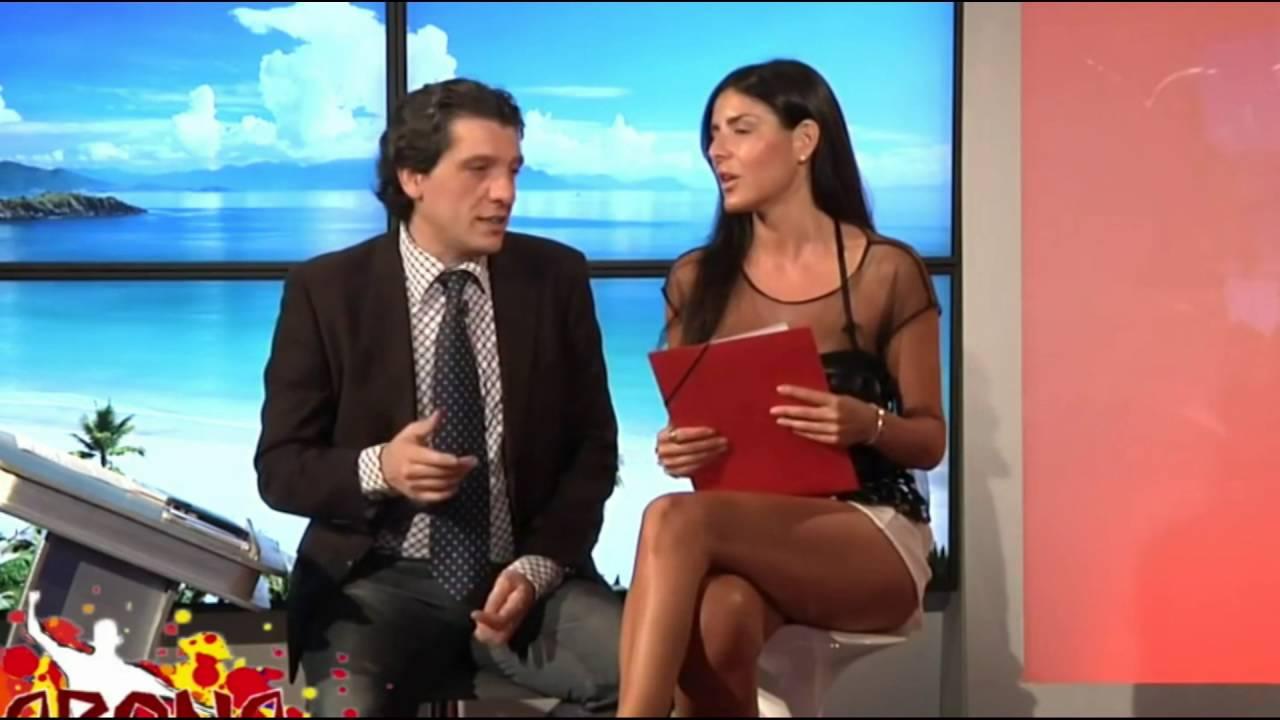 Barbara Francesca Ovieni Hot Legs Rabona 072916