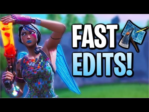 Using Fast Edits & 200 IQ To Get High Kill Wins In Fortnite! | 17Kill Solo Squad (Season 8)