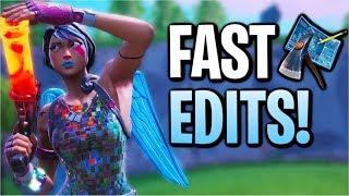 Using Fast Edits & 200 IQ To Get High Kill Wins In Fortnite! | 17Kill Solo Squad (Season 8)