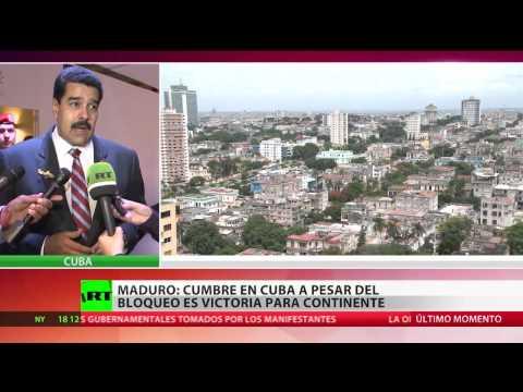 Maduro a RT: La Celac consolida la agenda del siglo XXI de Latinoamérica y el Caribe