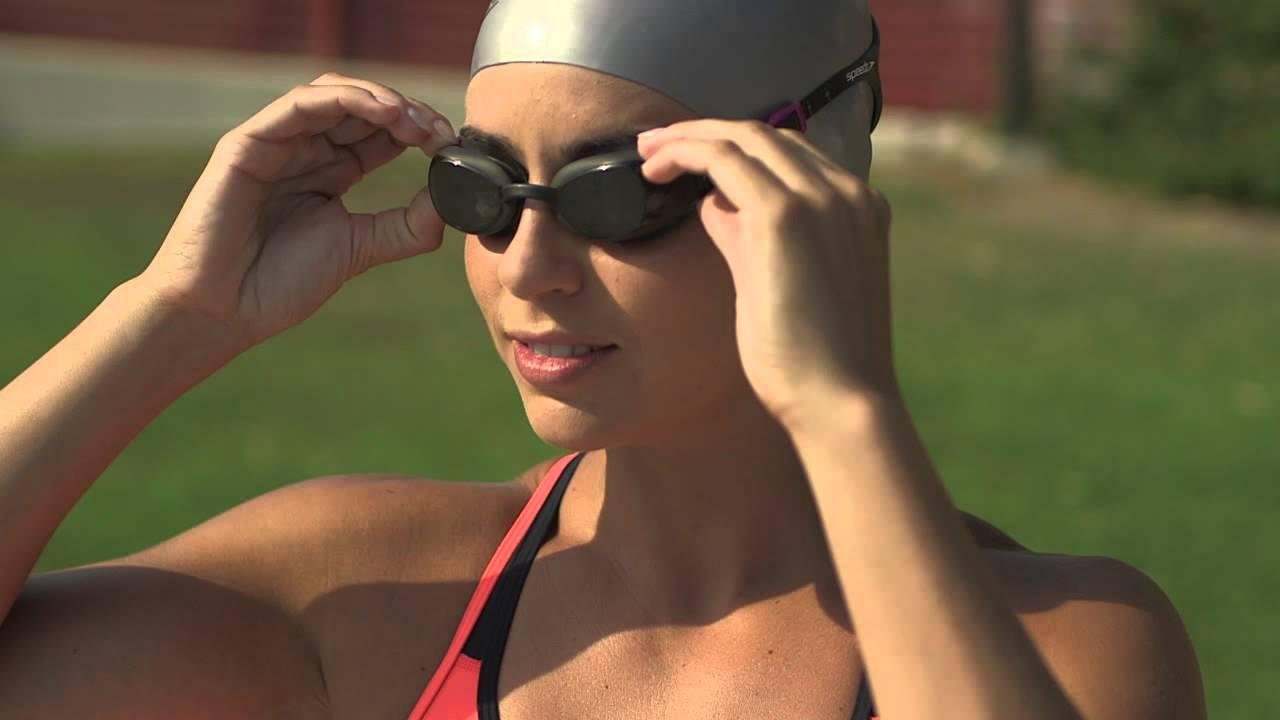 9c22d74bff Speedo Aquapure Optical Goggles - YouTube
