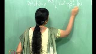 Mod-01 Lec-10 An Interesting Quantum Superposition: The Coherent State