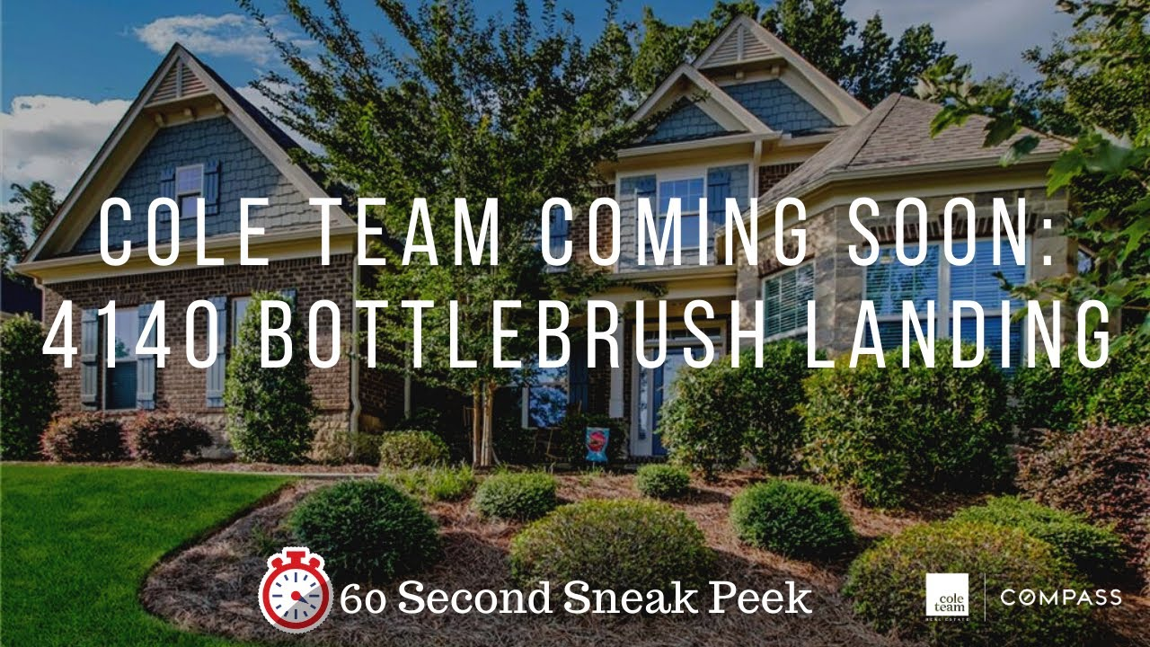 COLE TEAM Presents: 4140 Bottlebrush Landing, Cumming, GA 30040