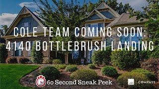 COLE TEAM Presents: 4140 Bottlebrush Landing, Cumming, GA 30040