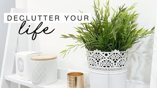 6 Tips To Start DECLUTTERING Your Life - Motivation Monday