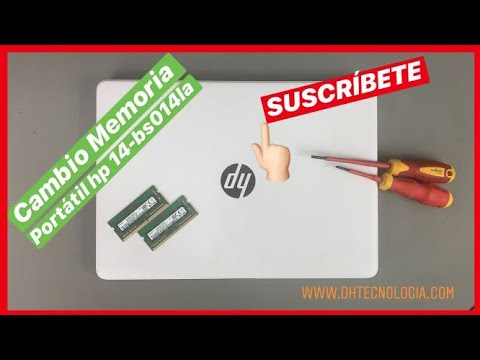 Cambio Memoria Portatil Hp 14 bs014la