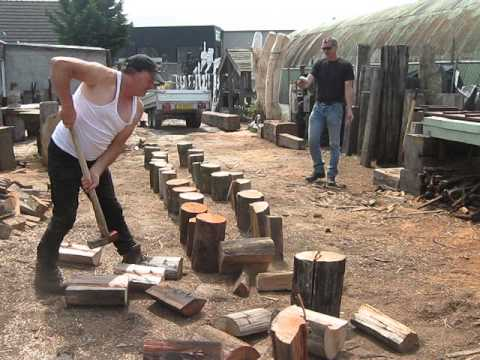 Peter Koning the fastest lumberjack in the world