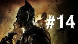 Injustice Gods Among Us Gameplay Walkthrough Part 14 - Superman - Chapter 14