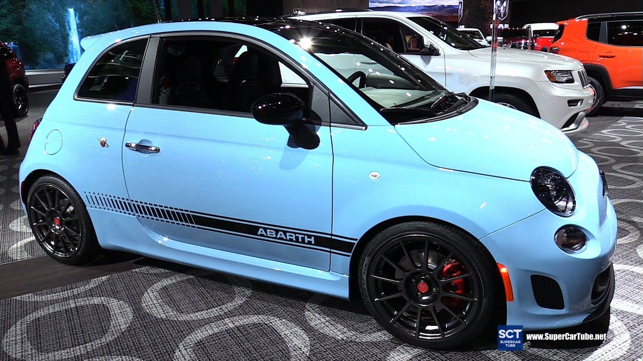 2016 fiat 500 abarth exterior and interior walkaround 2016 detroit auto show youtube. Black Bedroom Furniture Sets. Home Design Ideas