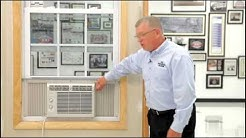 Air Conditioner - Double Hung Window Installation