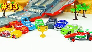Cars 3 Toys Speedway Race Tournament Vol.33 Strong Racers