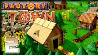 Research & Farming – Factory Town Gameplay – Let's Play Part 2
