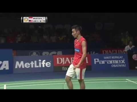 BCA Indonesia Open 2016 | Badminton SF M5-MS | Ihsan Maulana Mustofa vs Lee Chong Wei