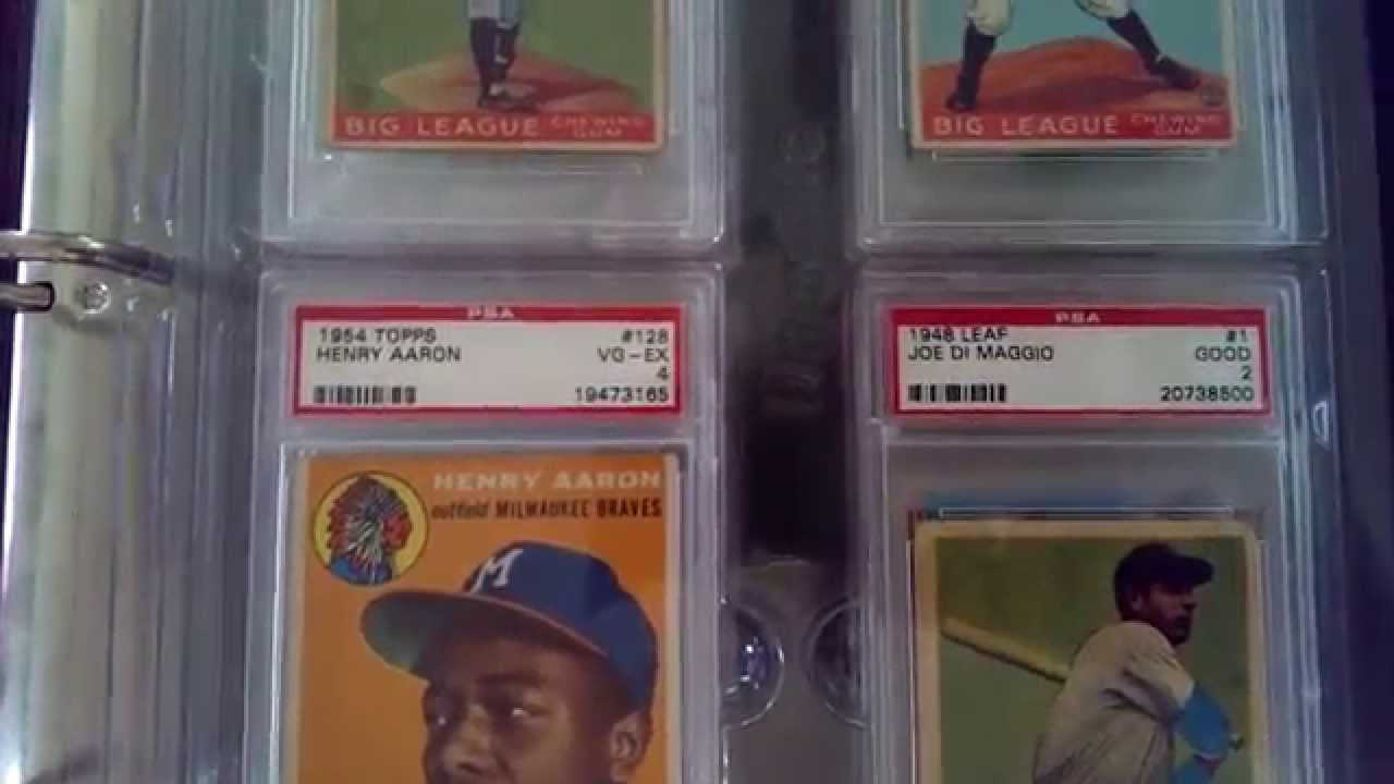 Psa Graded Baseball Card Binder