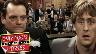 Rodney Walks Into Boycie's Adult Movie | Only Fools and Horses | BBC Comedy Greats