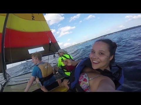 Sailing in Narragansett Bay