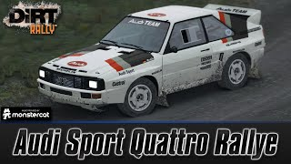 DiRT Rally [Early Access]: First Impressions | Audi Sport Quattro Rallye Gameplay