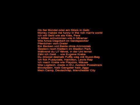 Haftbefehl - Money Money ( ft. ) Celo Abdi & Veysel + Lyrics HD