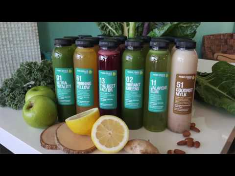Cleanse with Pure Juice Cafe