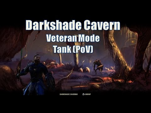 Darkshade Cavern Dungeon Diving Tank PoV