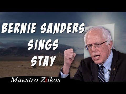 Bernie Sanders Singing Stay By Zedd, Alessia Cara