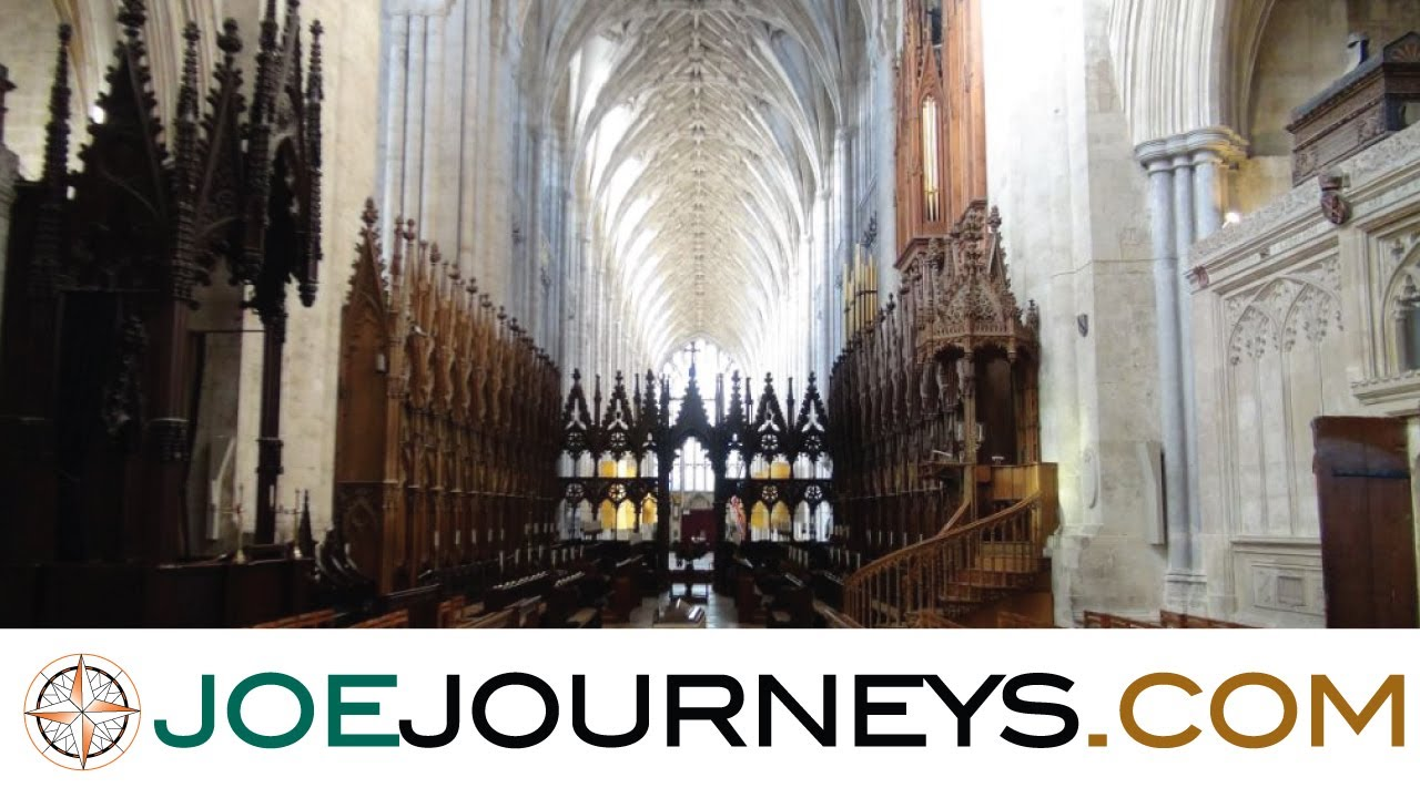 Winchester england joe journeys youtube - Round table winchester cathedral ...