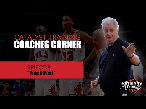 Pinch Post || Triangle Offense Options || Coaches Corner