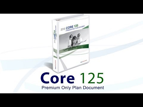 $99 Section 125 Tax Saving Premium Only Plan Document by CoreDocuments.com