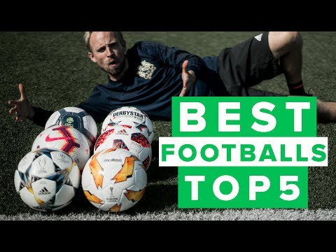 Top 5 best footballs 2018 - best match balls