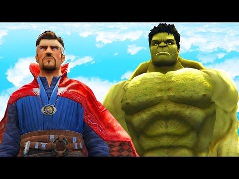 DOCTOR STRANGE VS HULK - EPIC SUPERHEROES BATTLE