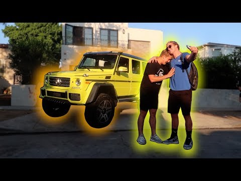 Thumbnail: I GOT MY BROTHER HIS DREAM TRUCK!!! *apology*