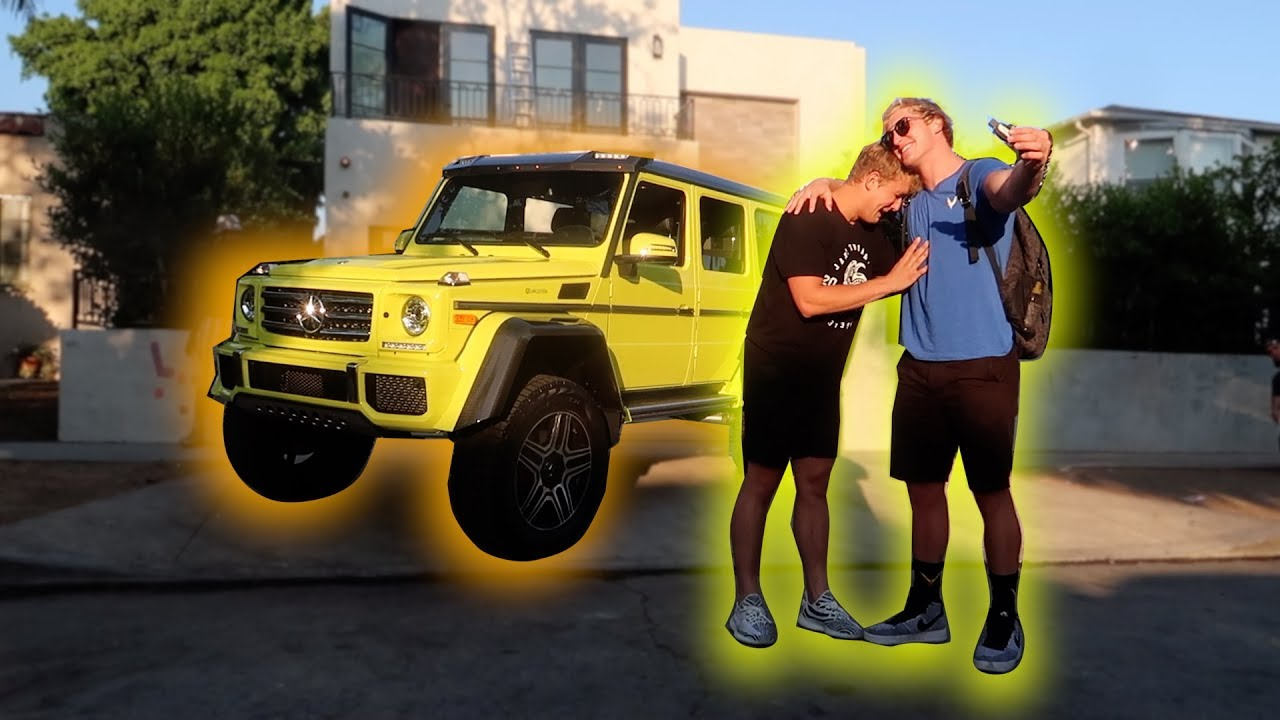 I GOT MY BROTHER HIS DREAM TRUCK!!! *apology* - YouTube