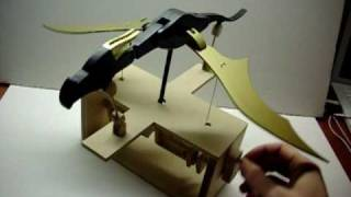 Wooden Dragon Automata
