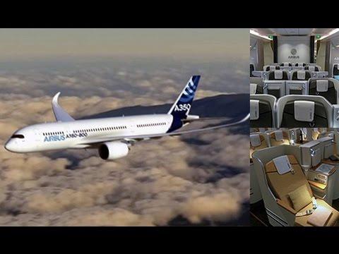 แอร์บัสเปิดตัวเครื่องบินรุ่นใหม่ A350 XWB  - Springnews