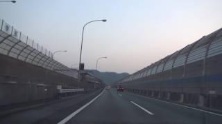 車載動画(HD 60fps) (E1) 名神高速道路 [35]吹田IC→(E1) 東名高速道路 守山PA 2017 3/19